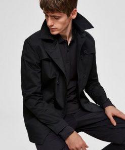 Selected Timeless Coat Musta