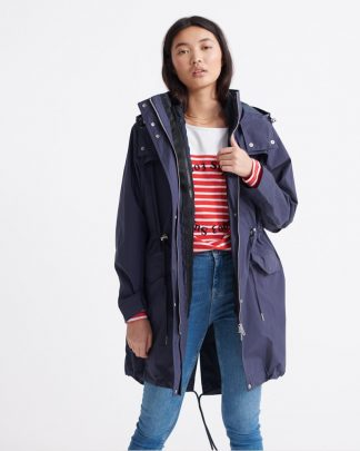 Superdry Essentials Parka Tummansininen