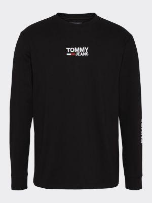 Tommy Jeans Longsleeve Tee Musta