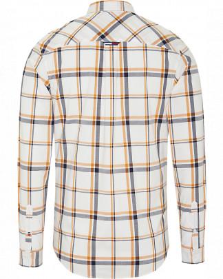 Tommy Jeans Multi Check Shirt Valkoinen