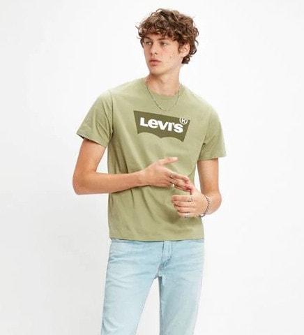 Levi's Housemark Graphic T-shirt Vihreä