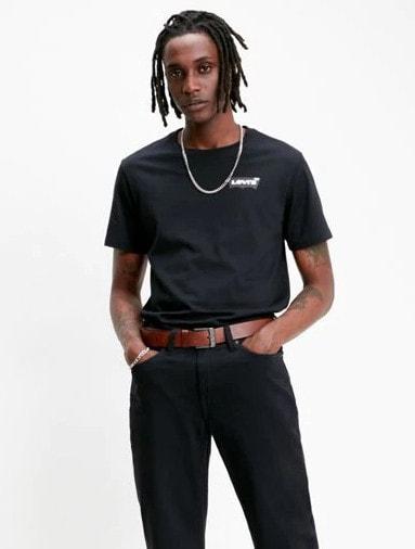 Levi's Housemark Graphic T-shirt Musta