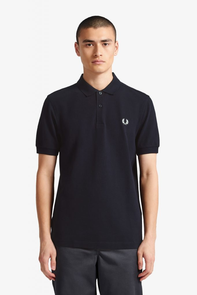 Fred Perry Plain Shirt Navy