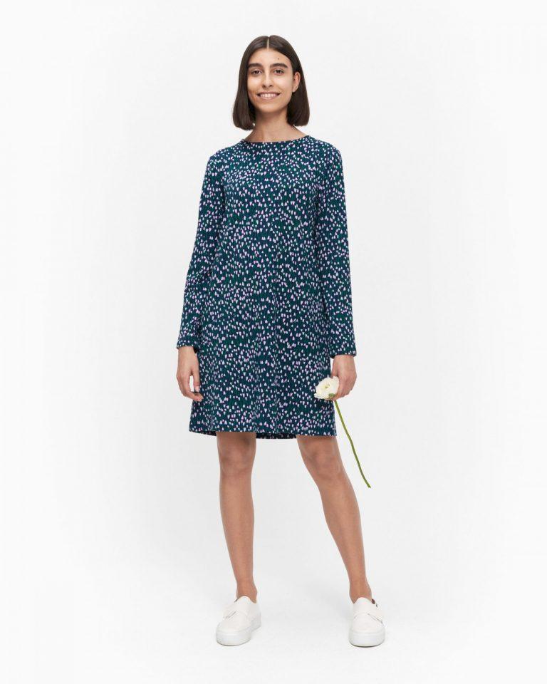 Marimekko Tähtiniitty Dress Tummansininen