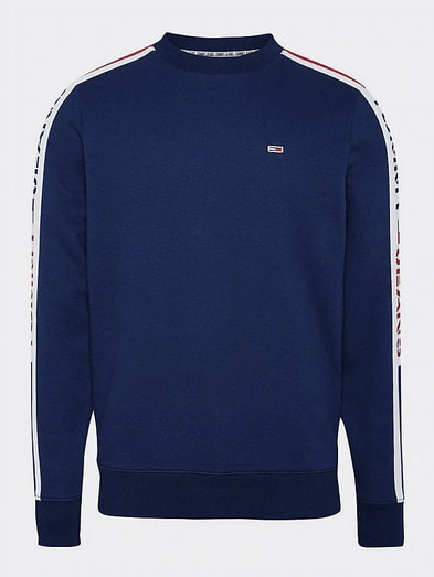 Tommy Jeans Loog Tape Crew Navy