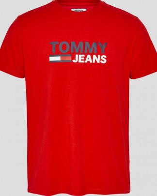 Tommy Jeans logo t-paita luomupuuvillaa