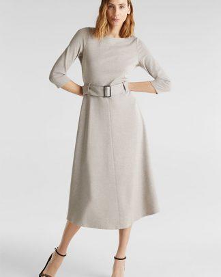 Esprit punto jersey dress