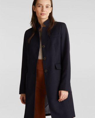 Esprit pique coat