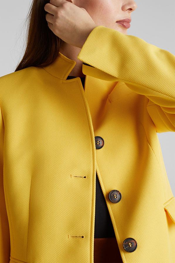 Esprit Coat Keltainen