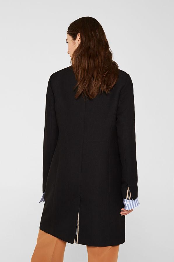 Esprit Coat Musta