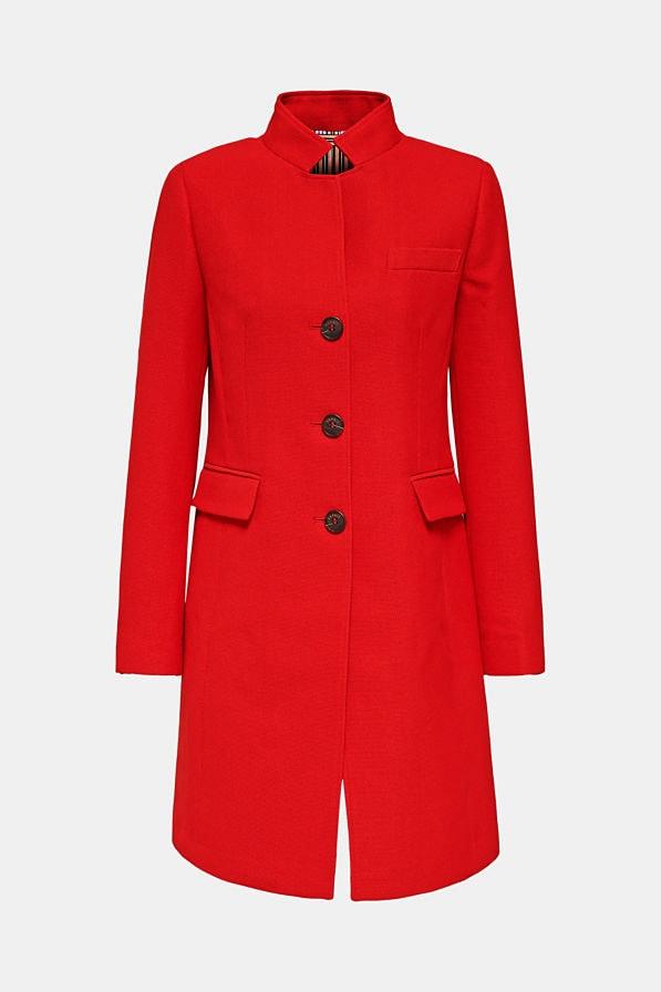Esprit Coat Punainen