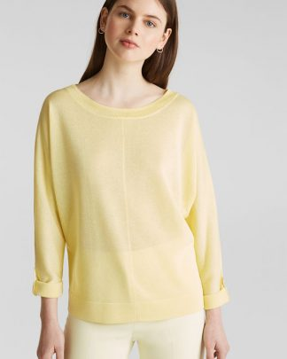 esprit lime sweater
