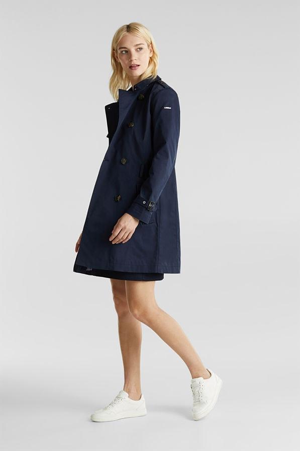 Esprit Coat Navy