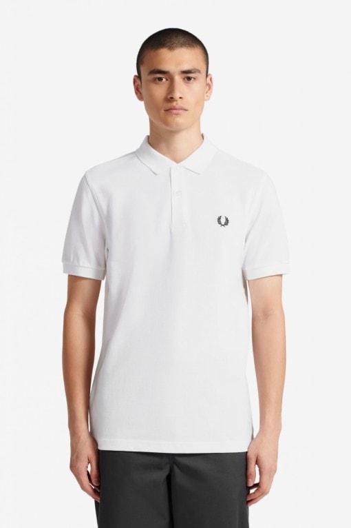 Fred Perry Plain Shirt Valkoinen