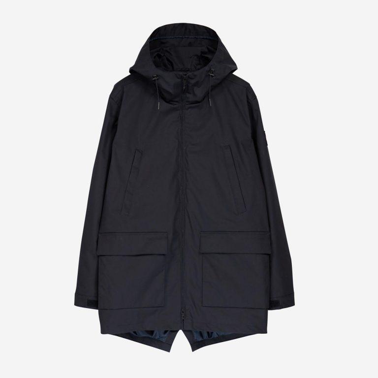 Makia Shelter Jacket Tummansininen