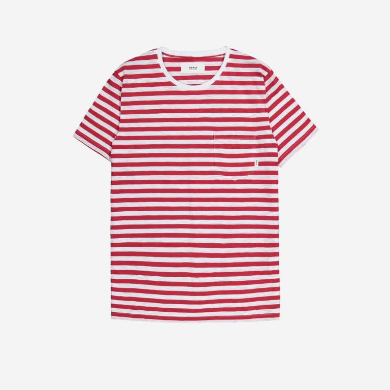 Makia Verkstad T-Shirt Navy-White