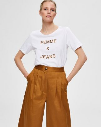 Selected Femme statement tee
