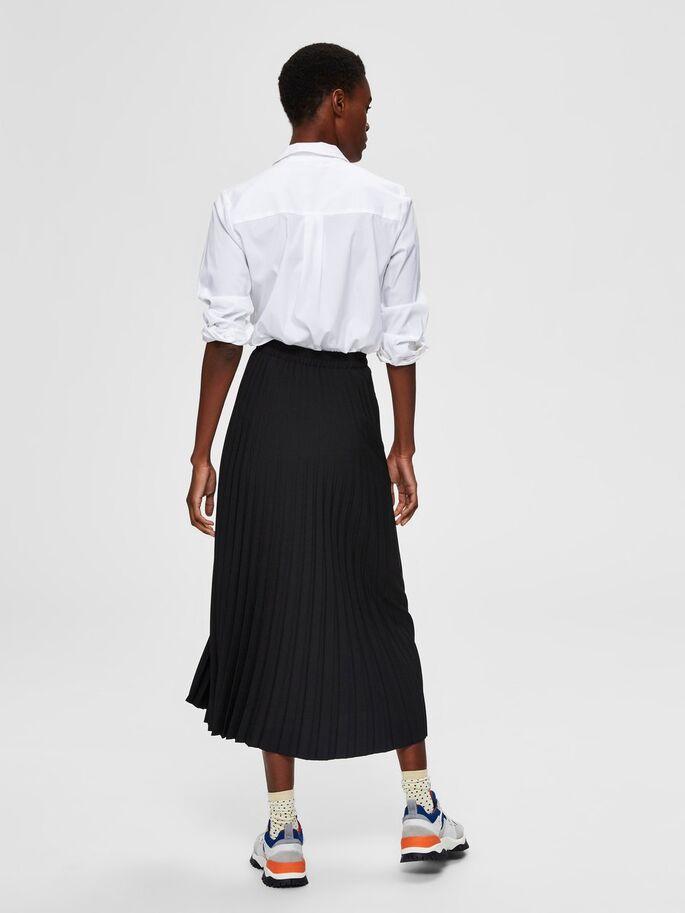 Selected Femme Tencel Shirt Valkoinen