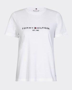 Tommy Hilfiger Essential Tee Valkoinen