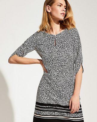 Comma crepe dress