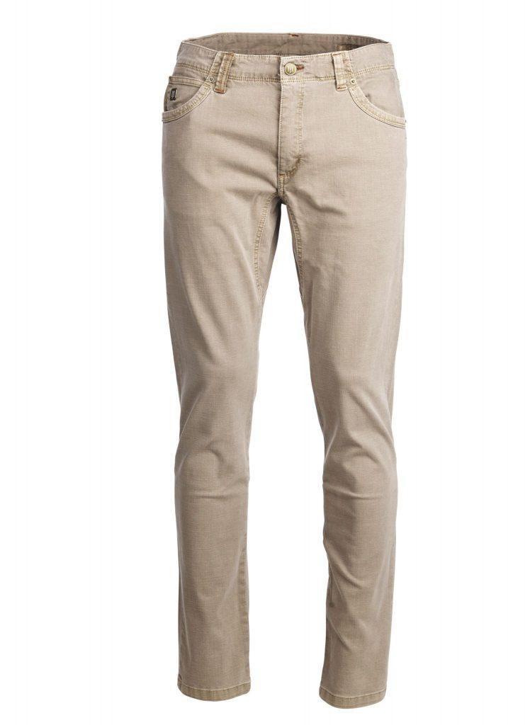 Hansen & Jacob 5Pkt Cut'n Sew Trousers Ruskea