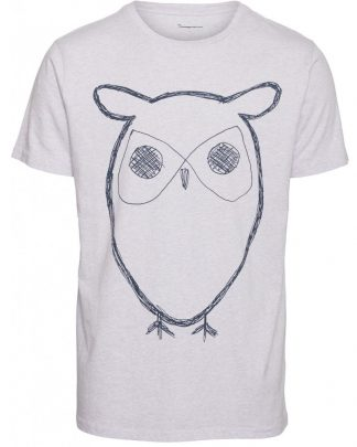 Knowledge Cotton Apparel Adler Big Owl T-shirt