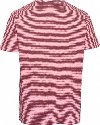 Knowledge Cotton Apparel Alder Stripe T-shirt