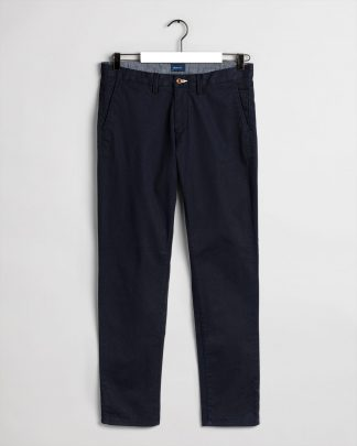 Gant Slim Twill Chino Navy