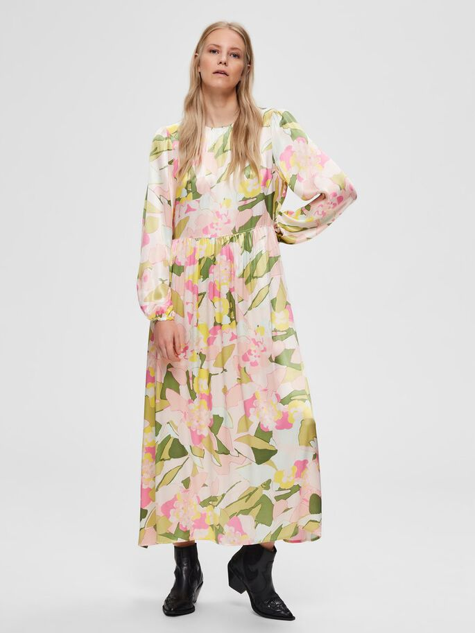 Selected Femme Mola Ankle Dress Rosebloom