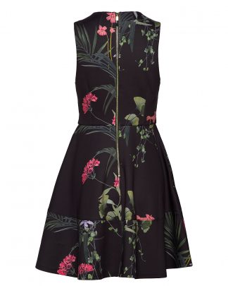 Ted Baker Wrapel Dress Black