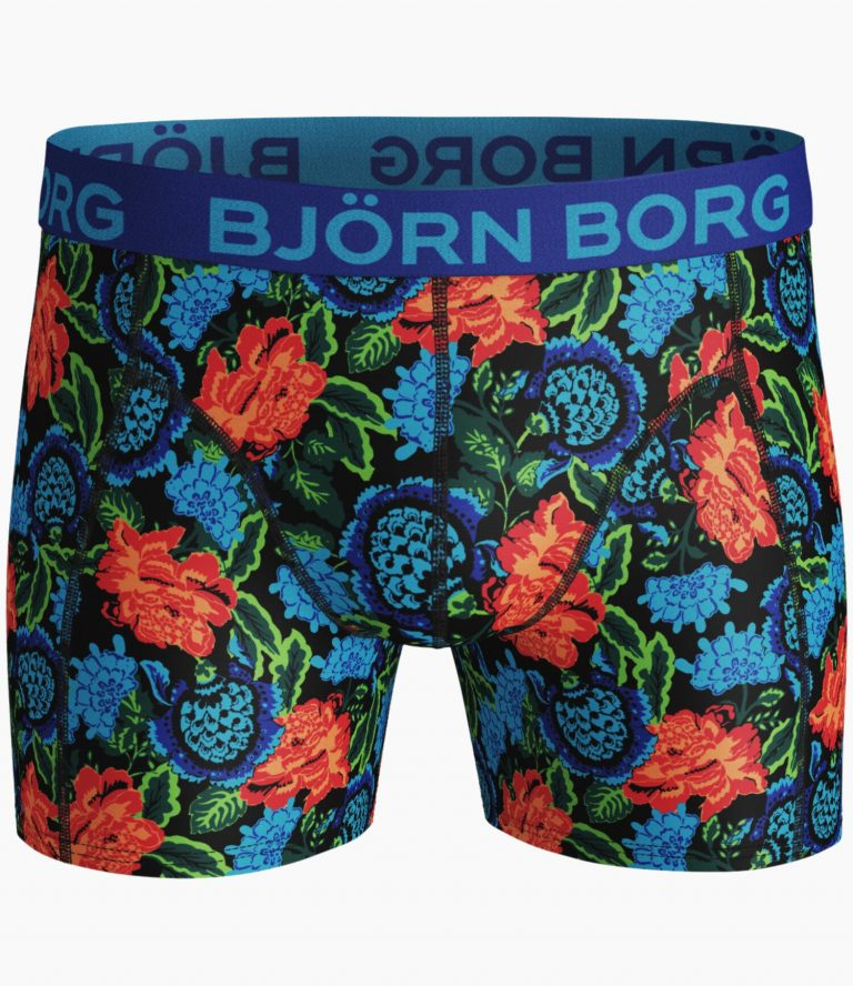 Björn Borg 2-Pack Dramatic Flower Boxers Black