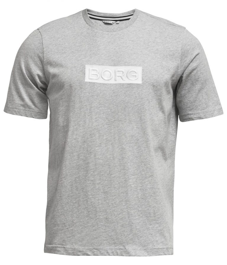 Björn Borg Borg Sport Tee Grey