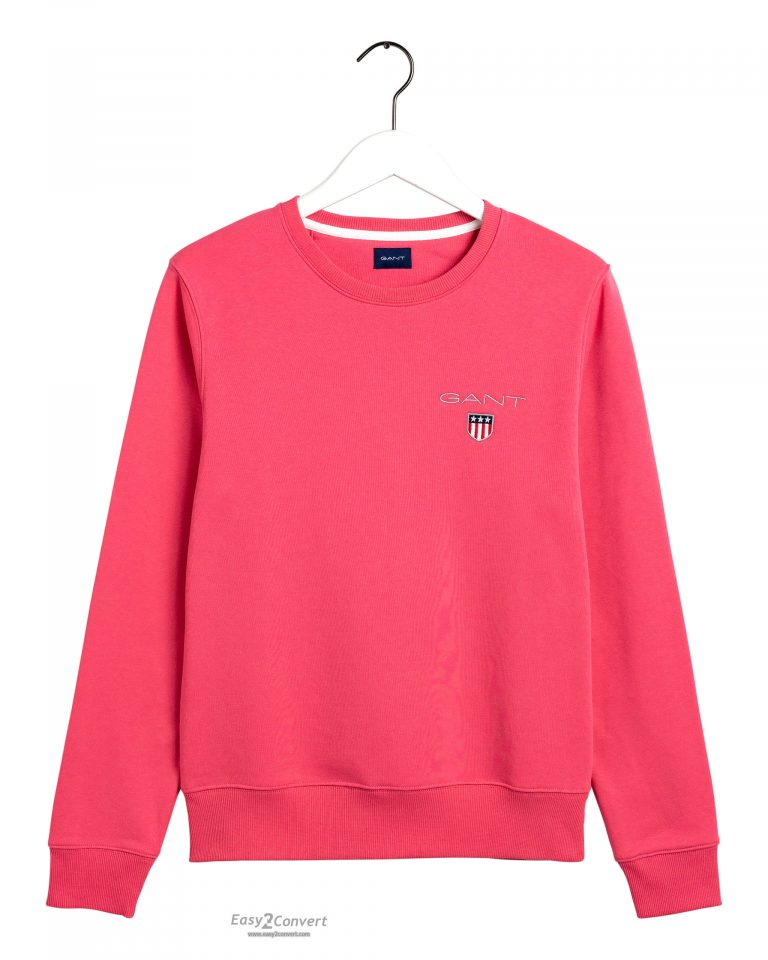 Gant Medium Shield Crew Neck Red