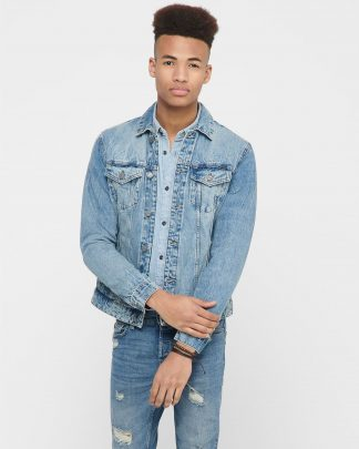 Only & Sons Coin Trucker Denim Jacket