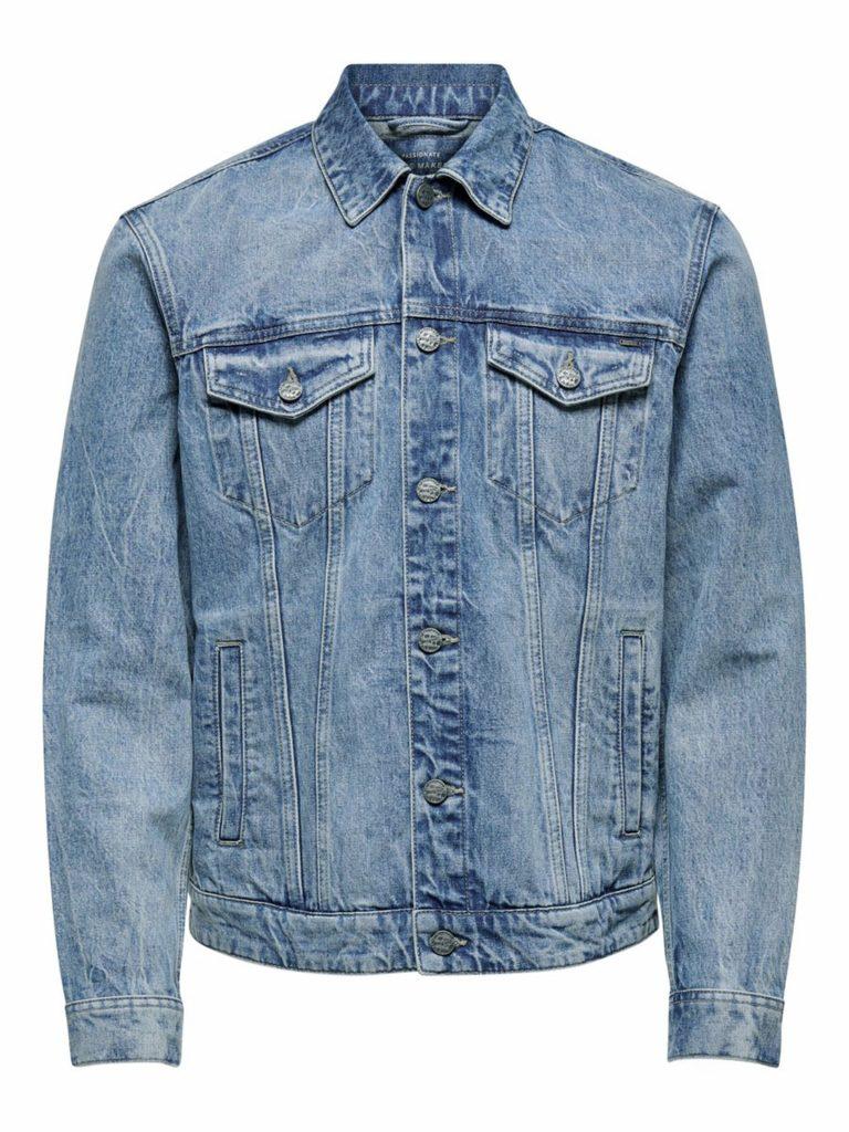 Only & Sons Coin Trucker Denim Jacket