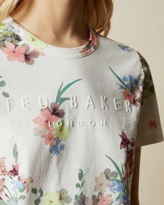 Ted Baker Lileeyy Pergola T-shirt Ivory