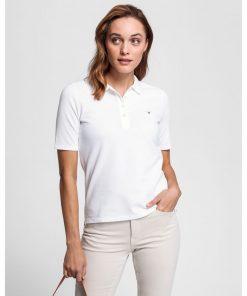 Gant Original Pique White