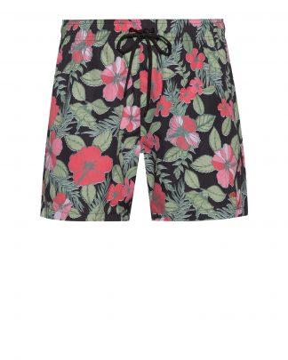 Hugo Boss Hawaii Swim Shorts Black