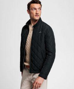 Gant Windcheater Jacket Black