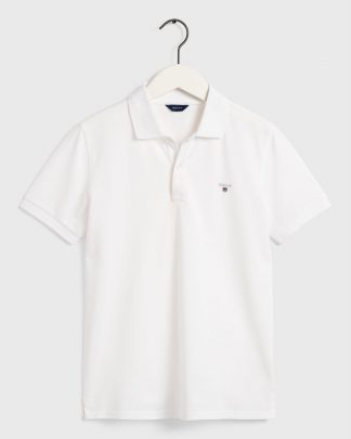 Gant Teens Original Pique White
