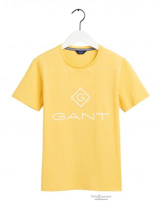 Gant Teens Lock-up T-shirt Yellow