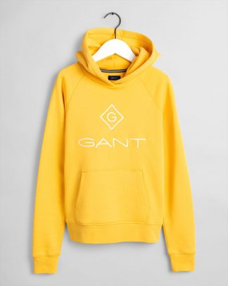 Gant Teens Lock-Up Hoodie Yellow