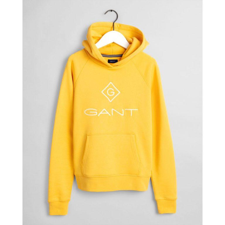 Gant Teens Lock-Up Hoodie Yellow