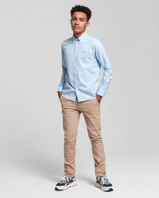 Gant Teens Oxford Shirt Light Blue