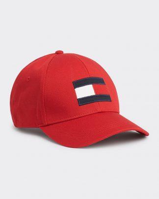 Tommy Hilfiger Big Flag Cap Red