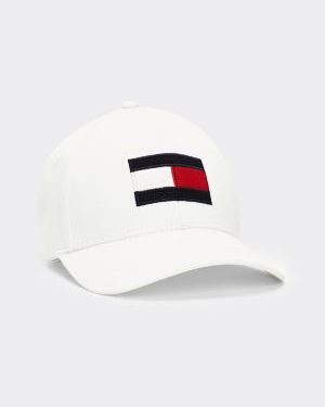 Tommy Hilfiger Big Flag Cap White