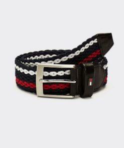 Tommy Hilfiger Adam Stripe Webbing Belt Stripe