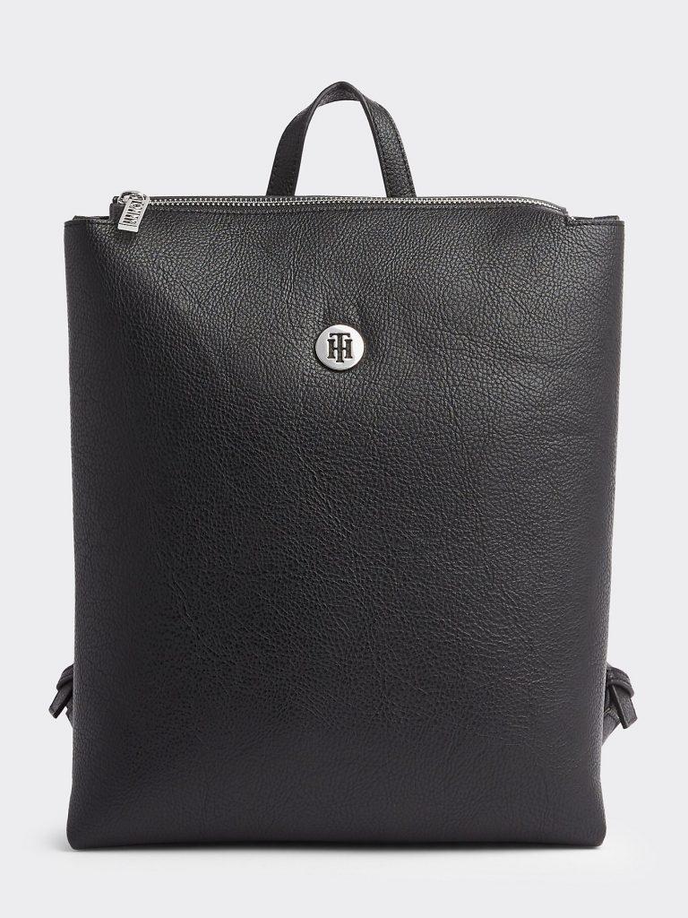 Tommy Hilfiger Core Plaque Backbag Black