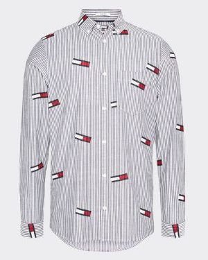 Tommy Jeans Flag Print Shirt