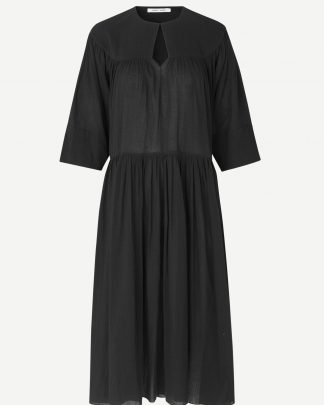 Samsoe & Samsoe Karol Long Dress Black